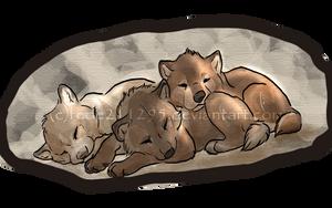 Sleeping cuteness by Sharaiza
