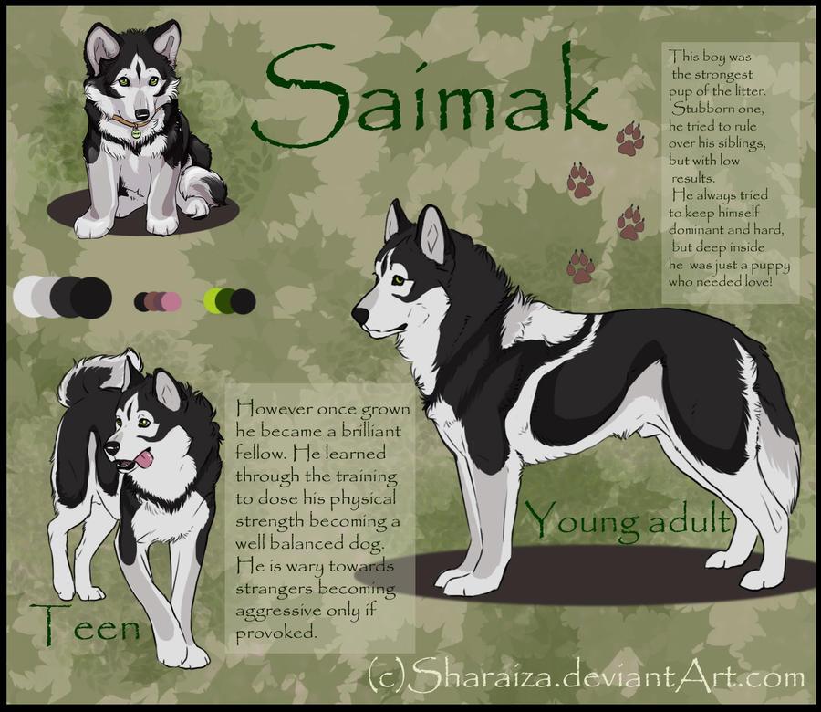 Saimak - ref sheet by Sharaiza