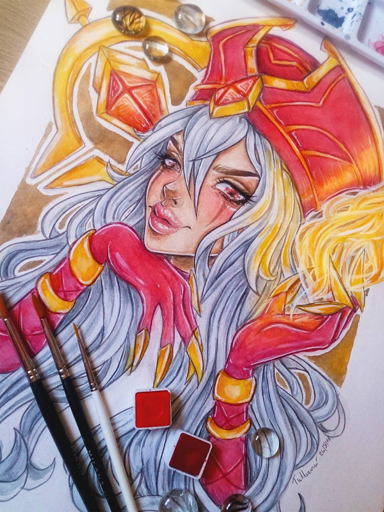 Sally Whitemane by LenielSOna