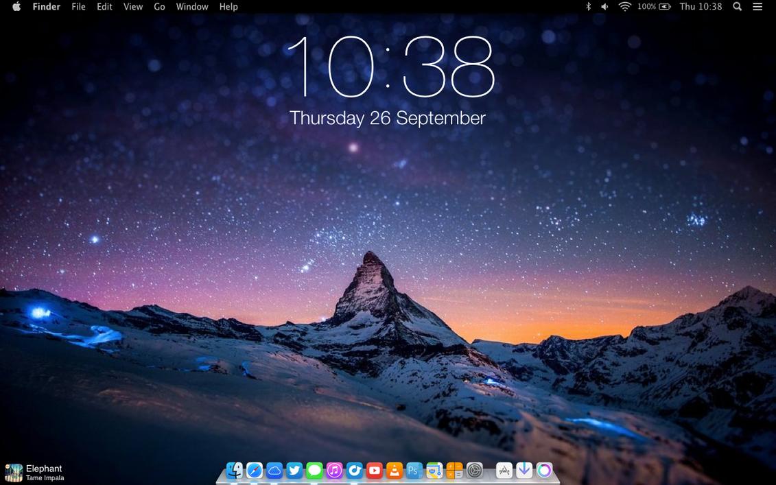 iOS 7 Style Autumn 2013 by SkyJohn
