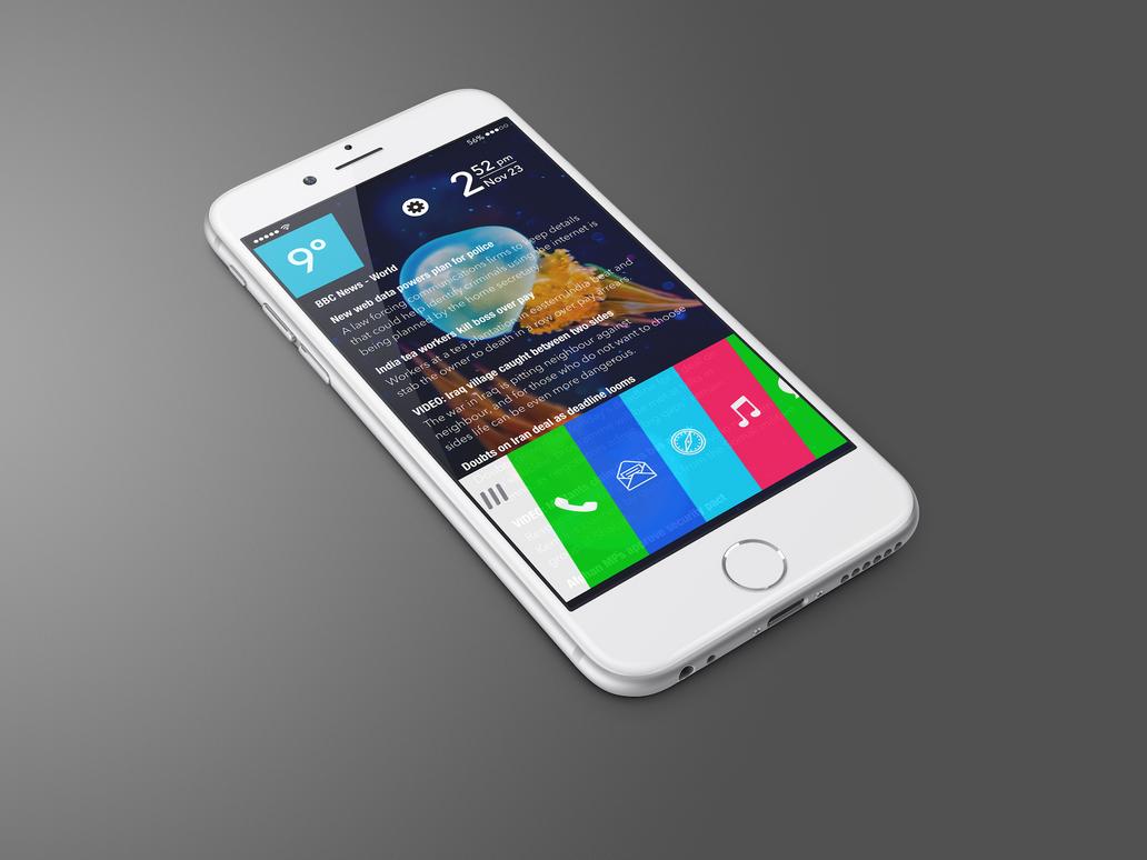 iWebOS Homescreen Preview by SkyJohn