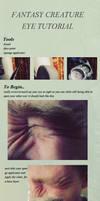 Facepaint tutorial creatureeye