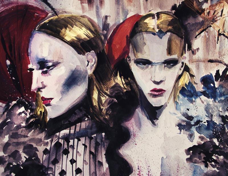 2 SISTERS by Dan-Heffer