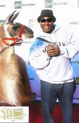 Supa Dave and Super Llama