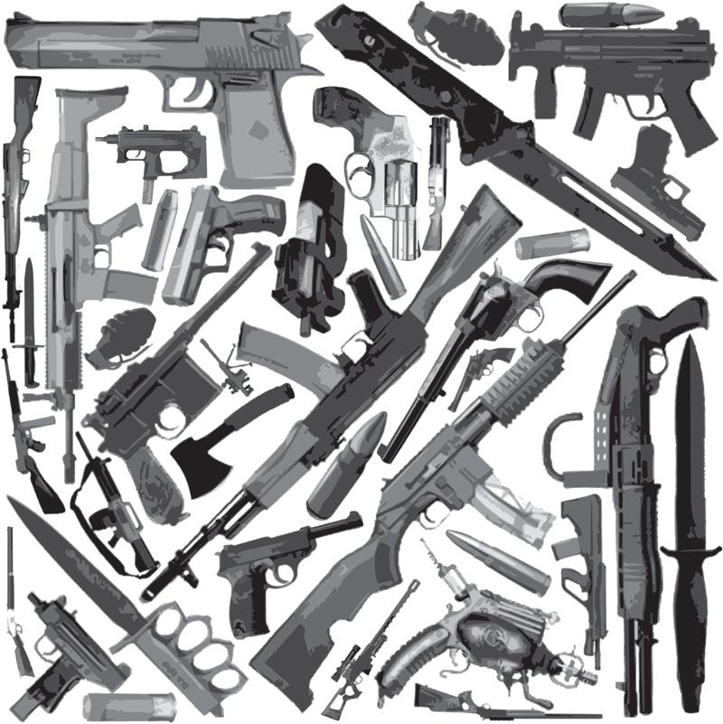 gun print wallpaper - photo #25