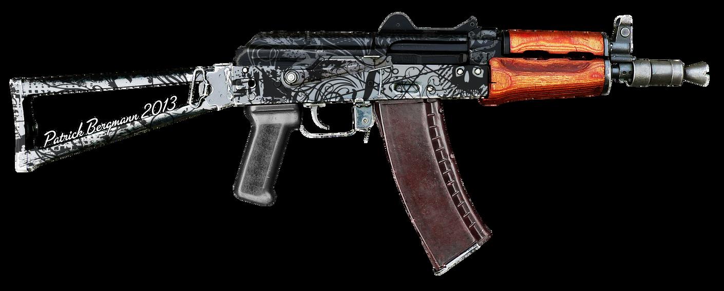 AKS-74u by PatB91 on DeviantArt