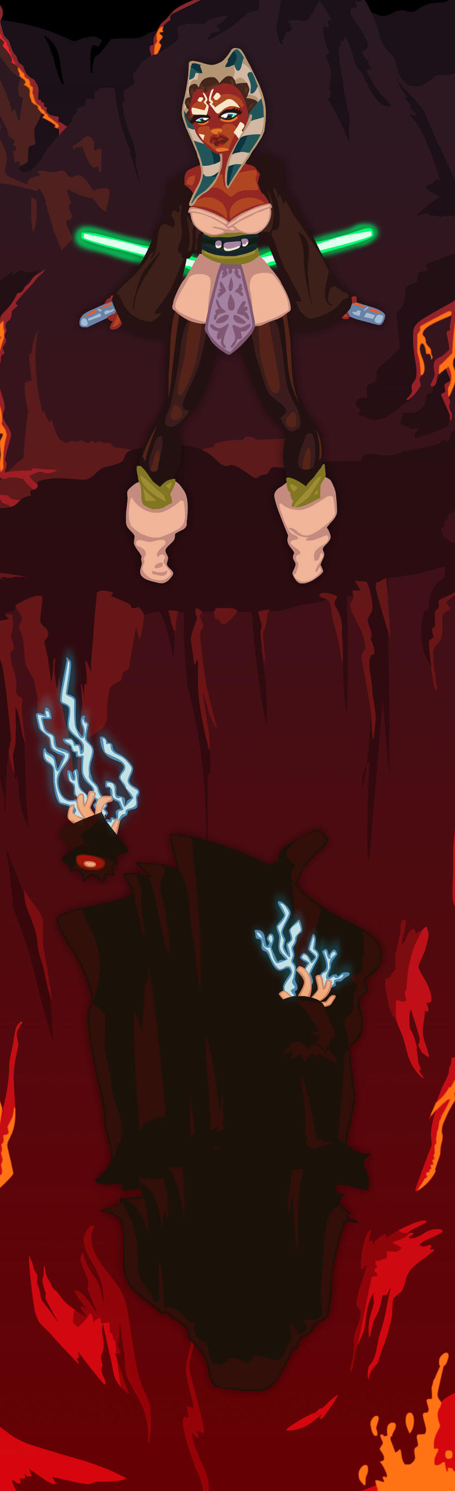 How Darth Sidious Really Died By Juhaszmark