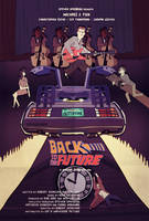Back to the Future fan poster by juhaszmark