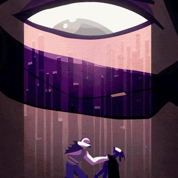 Dark Knight Rises animated poster by juhaszmark