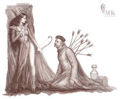 conceptual drawing by MK mahmood al khaja