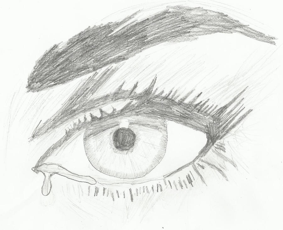 This is a graphic of Ambitious Drawing Of Someone Crying