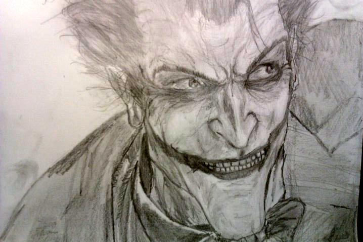Arkham Joker by BloodGrin