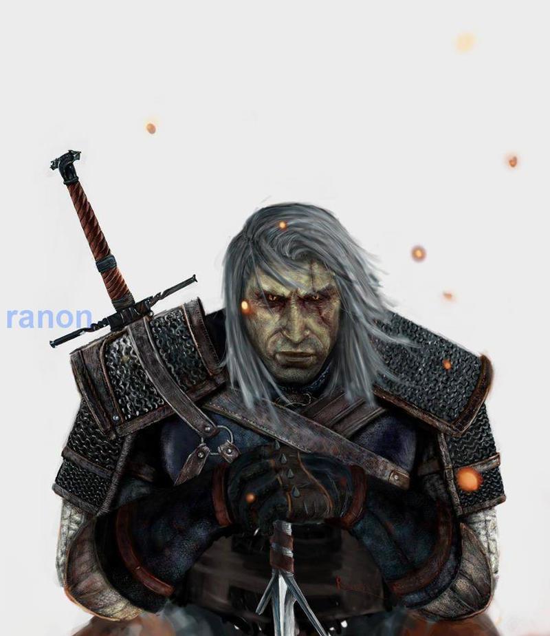 Geralt by BloodGrin