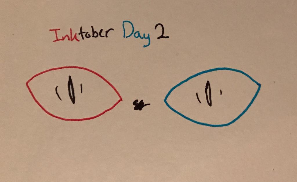 3D Scare Inktober Day 2 by sosozelda