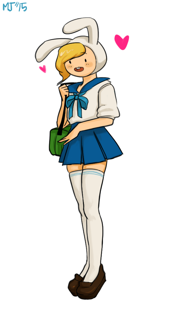 sailor school uniform fionna by KimGoma