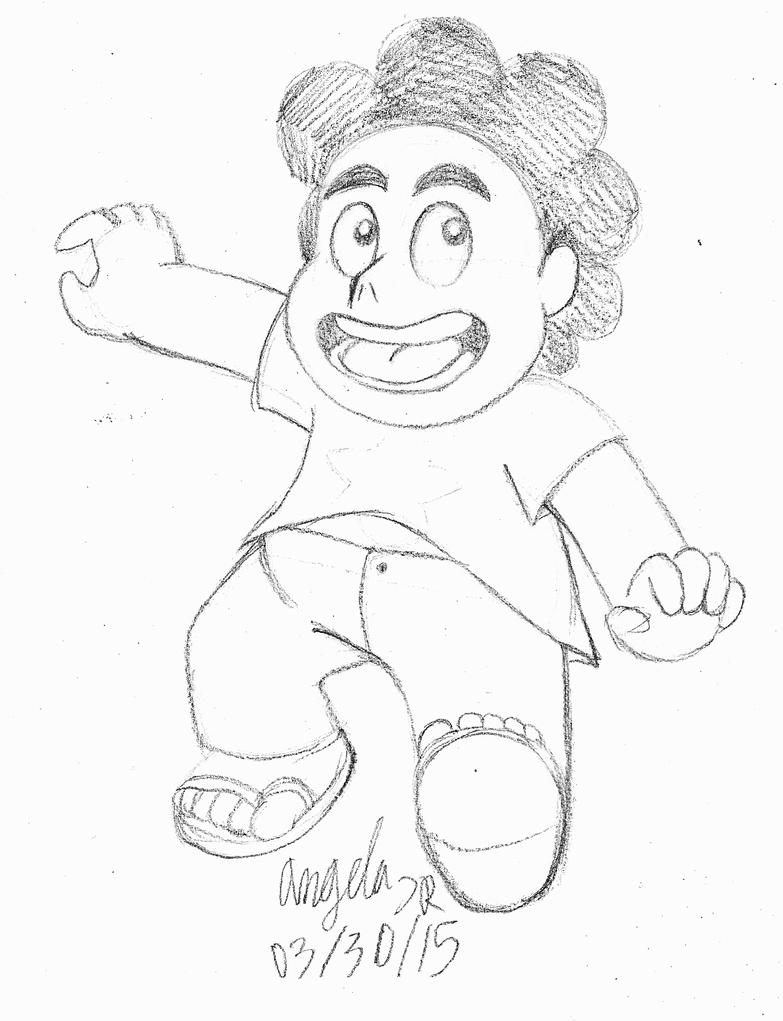 Steven Universe Sketch Rose: Steven Universe Sketch By CherishedRose On DeviantArt