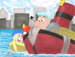 Father and Son Tugboats