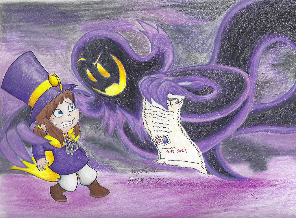 Hat Kid and The Snatcher