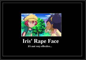 Iris Rapeface meme by 42Dannybob