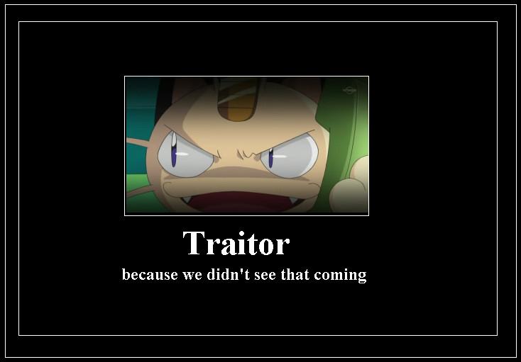 Traitor Meme by 42Dannybob