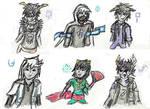 HS Character Sketchdump