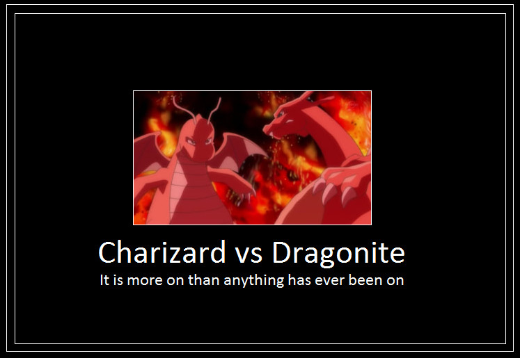 Charizard vs Dragonite Meme 2 by 42Dannybob on DeviantArt