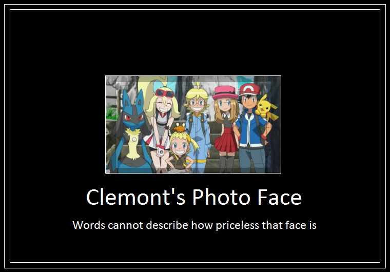 Clemont photo meme by 42dannybob