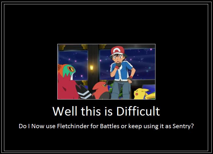 Ash fletchinder win meme by 42dannybob on deviantart - Ash fletchinder evolves into talonflame ...