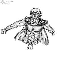 Overman (Sketch) by 42Dannybob