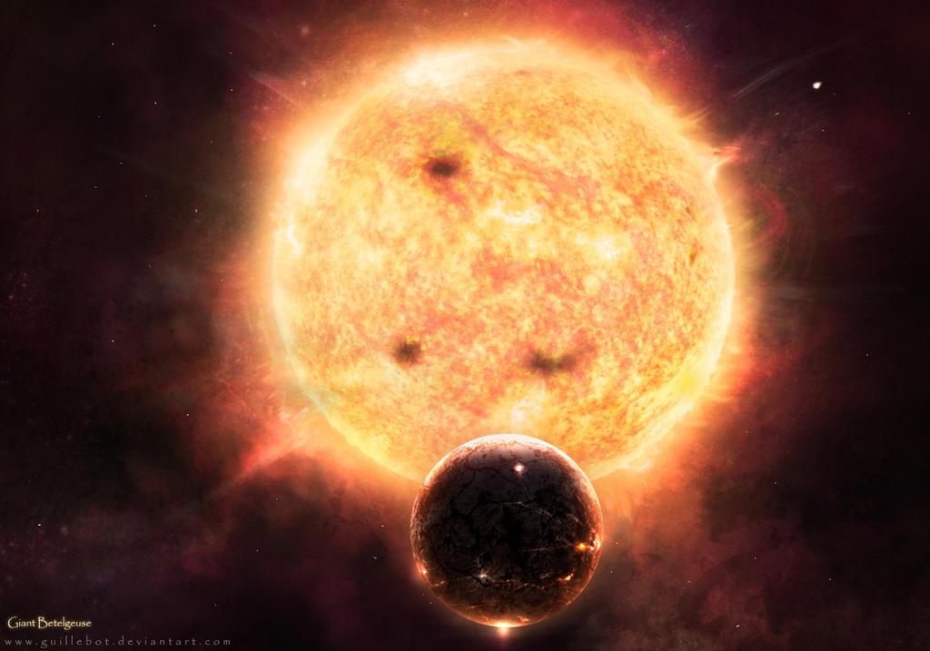 Giant Betelgeuse