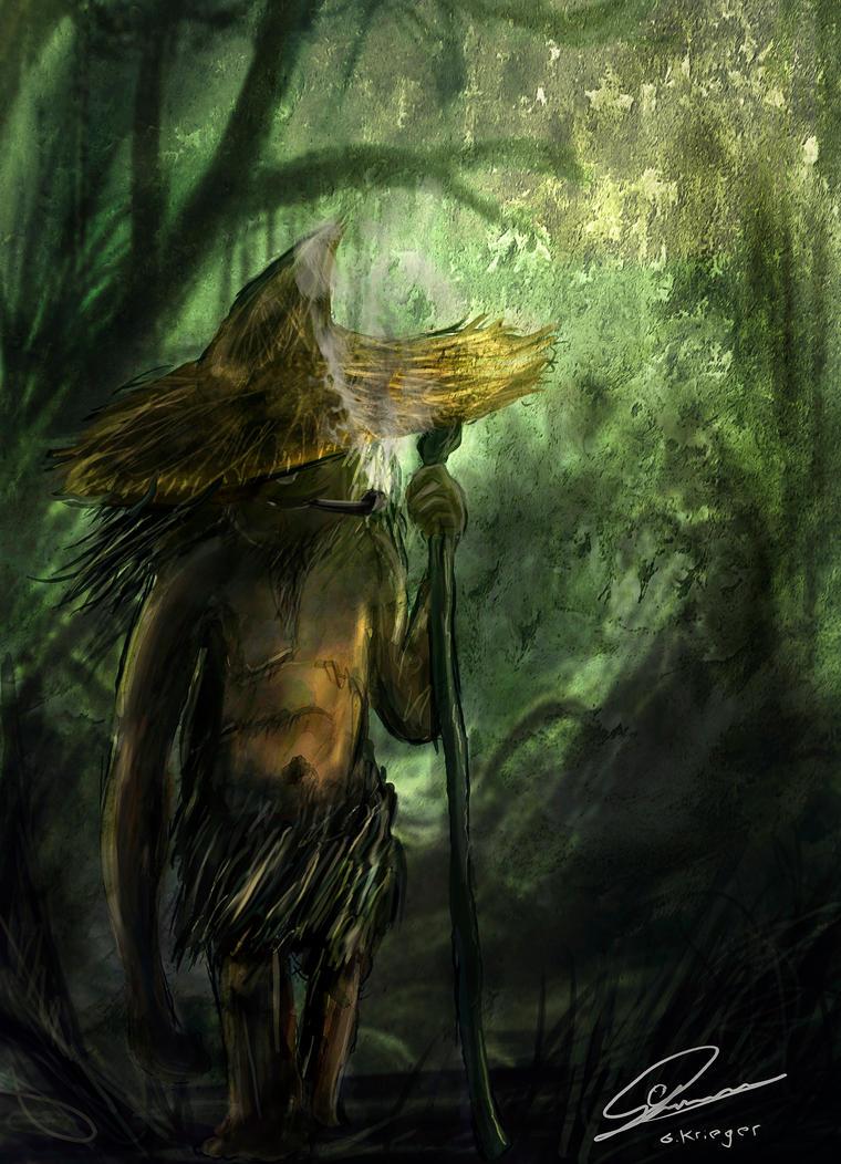 Mitología  Peruana El_pombero_by_guillebot-d4cqlgk