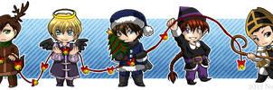 The Friendly Christmas Spirits