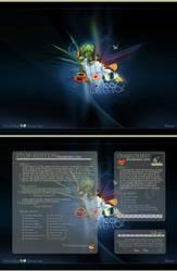 Near far world interface prev. by iTop-edition