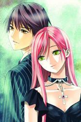 Tsukune and Moka 2
