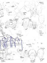 (Very)Rough sketch of my Megaman fan series by rockmanknight