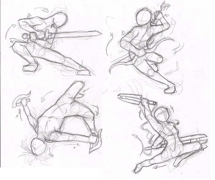 Dynamic pose practice by Elements-of-Time - 146.6KB
