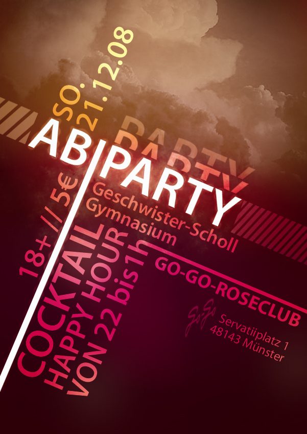 Party Flyer by r0man-de