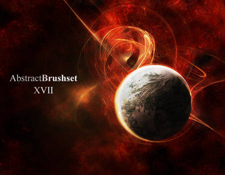 Abstract Brushes Set 17