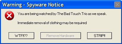 Bad Touch Trio Warning