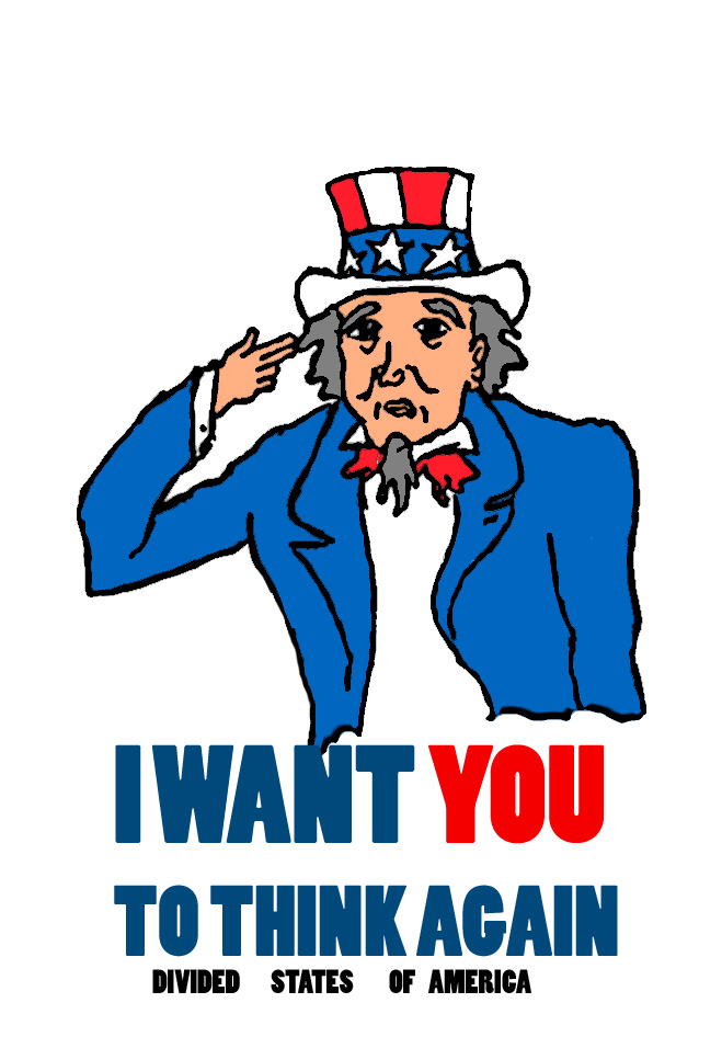 Uncle Sam? by Amphazere
