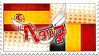 Hetalia SpaBel Stamp by kamillyanna