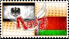 Hetalia PruBela Stamp by kamillyanna