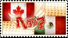 Hetalia CanaMex Stamp by kamillyanna