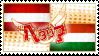 Hetalia AusHun Stamp by kamillyanna