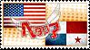 Hetalia AmePana Stamp by kamillyanna