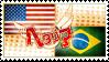 Hetalia USBraz Stamp by kamillyanna
