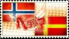 Hetalia NorSca Stamp by kamillyanna