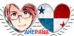 .:APH:. AmePana Hearts Stamp by kamillyanna
