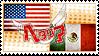 Hetalia USAMex Stamp by kamillyanna