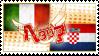 Hetalia ItaCroa Stamp by kamillyanna